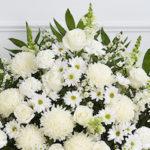 Obit flowers-white