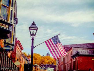 American Main St scene